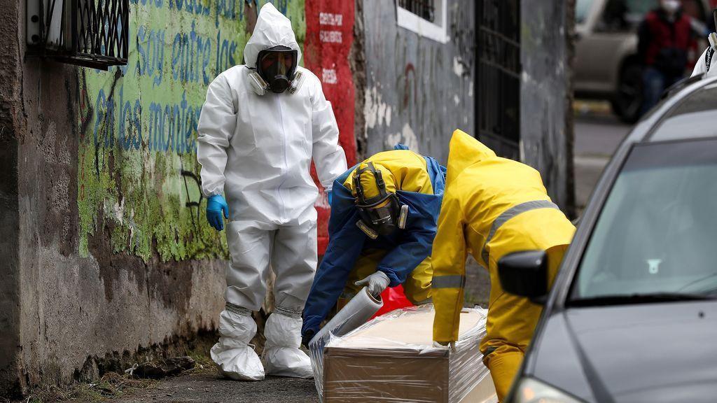 Más de 700 contagios y 18 muertes por COVID-19 en la última jornada en Ecuador