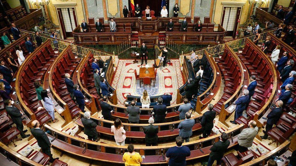Homenaje anual en el Congreso a las víctimas del terrorismo, con Bildu en lugar preeminente por primera vez