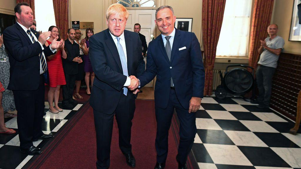 Dimite el jefe de Gabinete del Gobierno británico, Mark Sedwill tras varios encontronazos con el equipo de Johnson