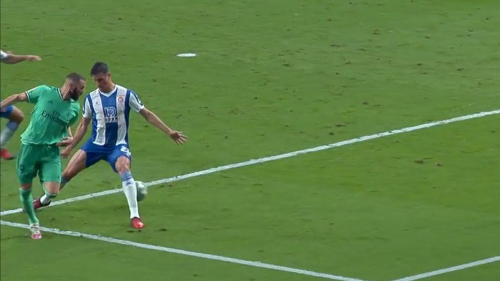 Benzema firma la asistencia de la temporada: taconazo imposible y gol de Casemiro