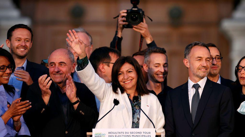 Anne Hidalgo será la alcaldesa del París olímpico en 2024