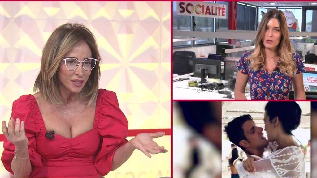 Patiño reacciona al magreo de Diego y Carla