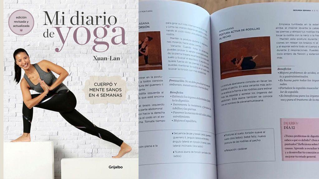 'Mi diario de yoga' el libro de yoga más vendido
