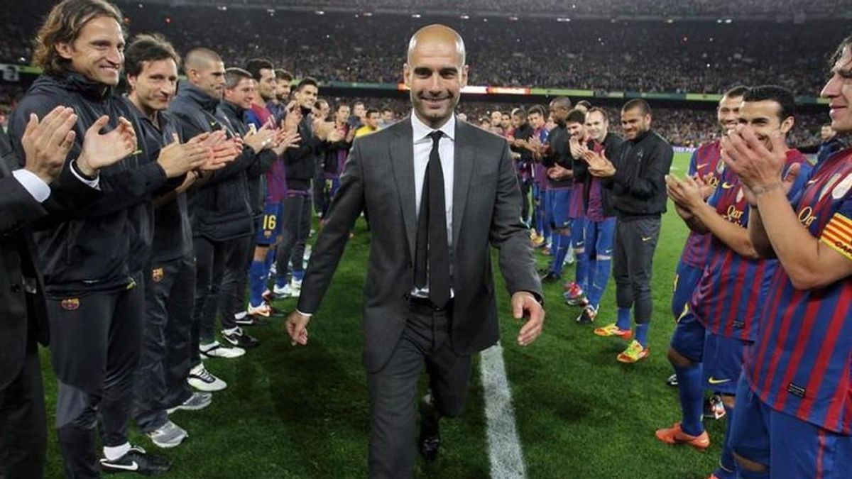 Guardiola, como entrenador del Barça