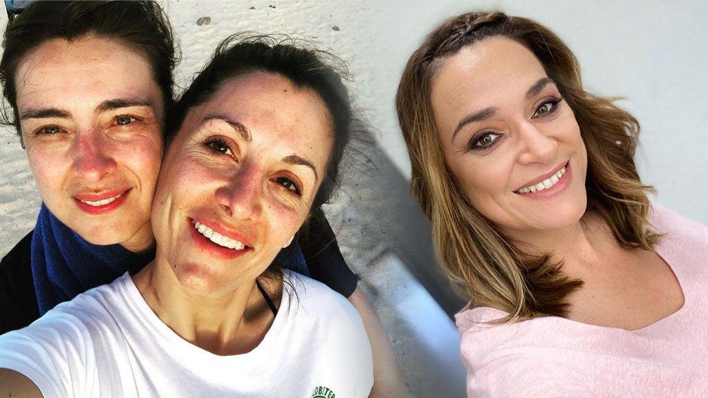"""Sandra Barneda y Nagore Robles posan besándose y Toñi Moreno reacciona: """"Envidia sana"""""""
