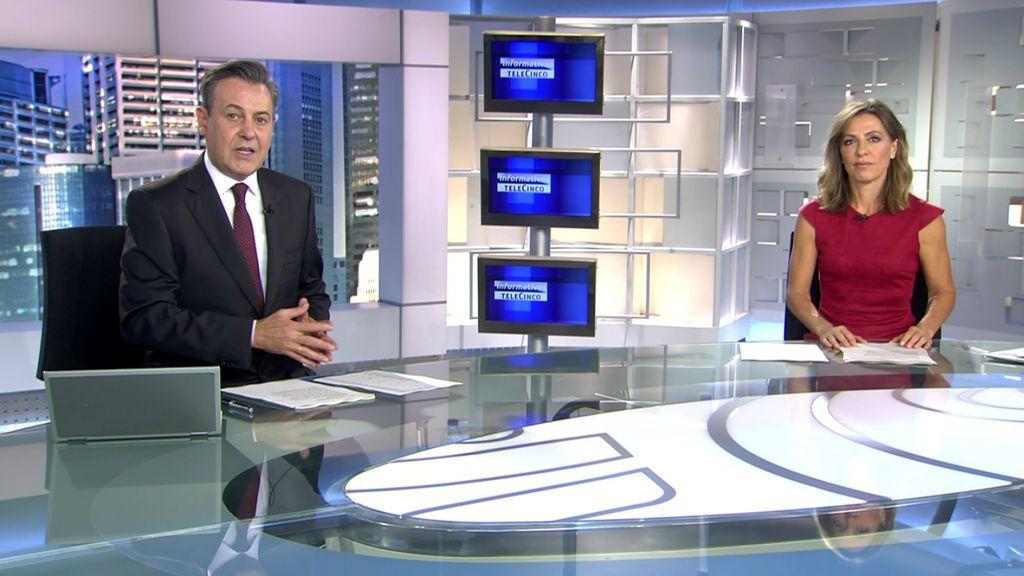 Con José Ribagorda y Ángeles Blanco Informativos Telecinco 2020 Noche 28/06/2020