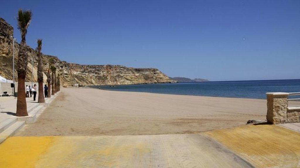 Un playa de Melilla