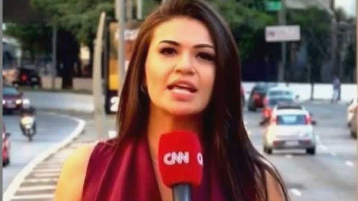 Bruna Macedo, reportera de CNN