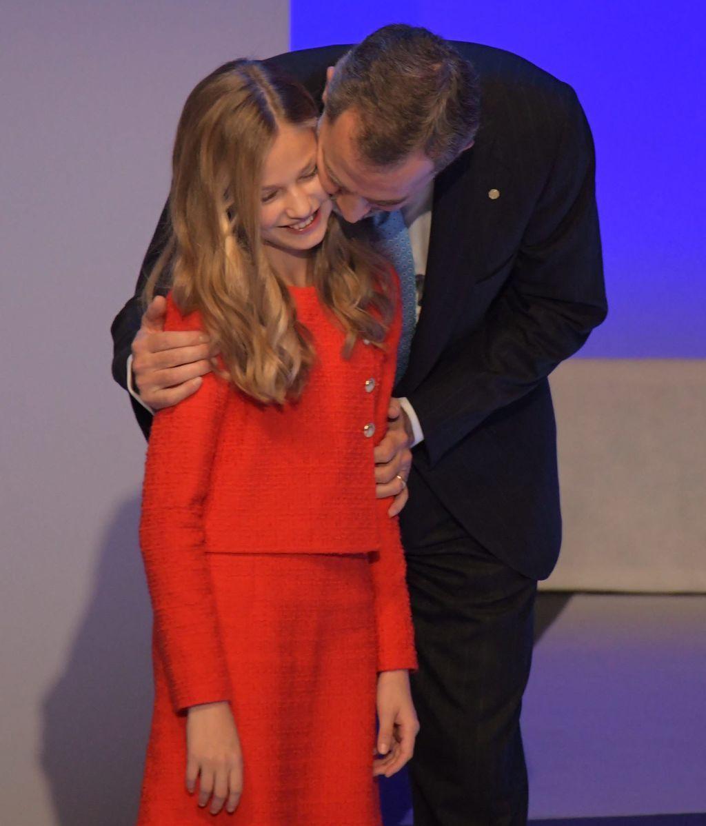 Leonor, en los premios Princesa de Girona (2019)