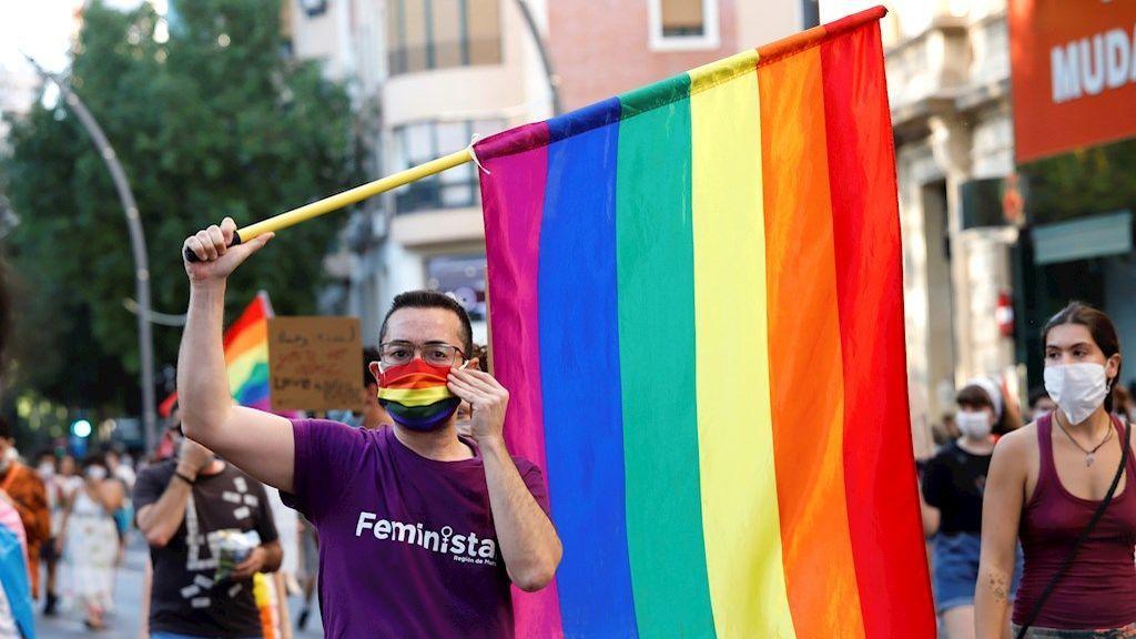 Celebración del orgullo LGTBI en Murcia