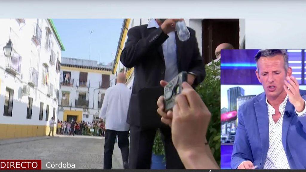 """Joaquín Prat, de los escoltas de los Reyes: """"Para ver este show ridículo en el que no se deja informar, mejor conectamos luego"""""""