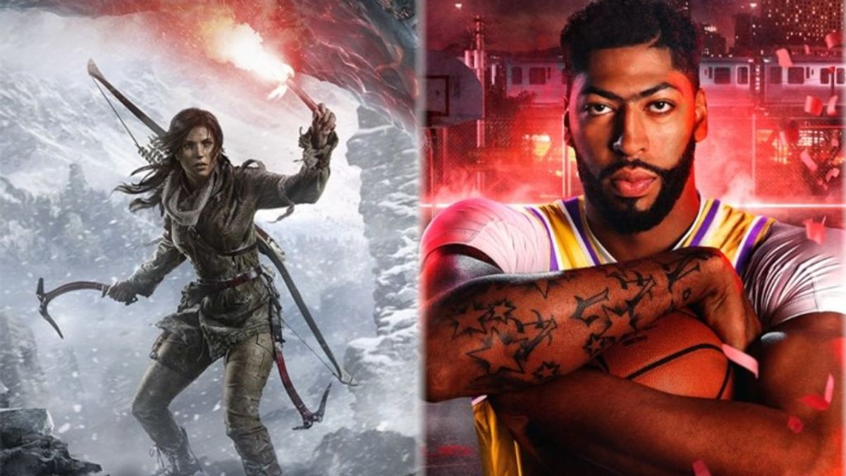 Rise of the Tomb Raider y NBA 2K20