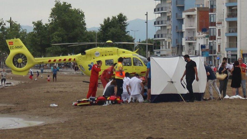Muere un niño de siete años y otro de seis en estado crítico tras ahogarse en una playa de Girona