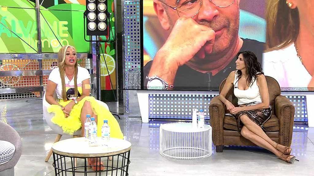 Belén Esteban y Paz Padilla, en el plató de 'Sálvame'