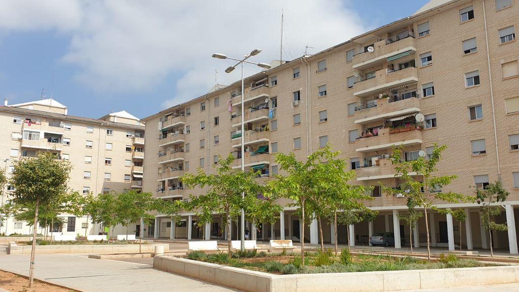 Edificio contagiados Castellón