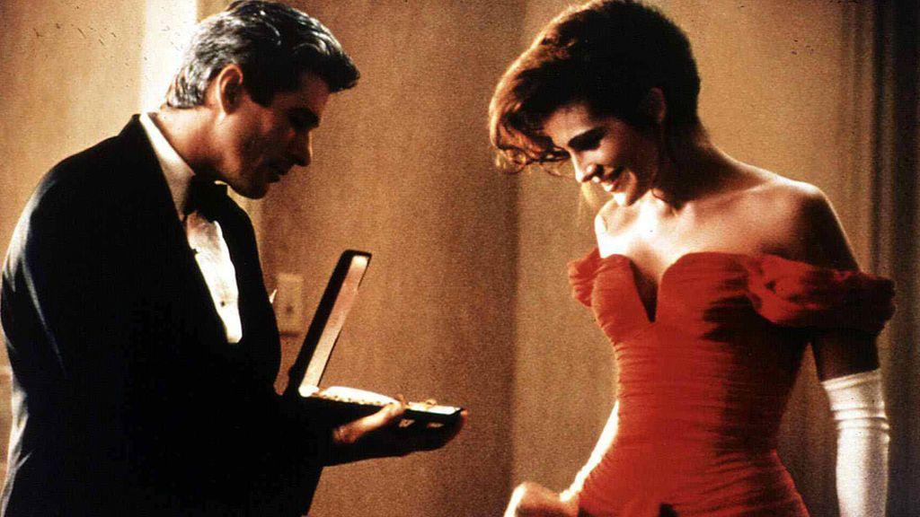 El famoso vestido rojo en 'Pretty Woman'