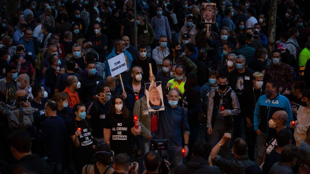 """Nissan registra un ERE que afecta """"a miles de trabajadores"""" en Cataluña"""
