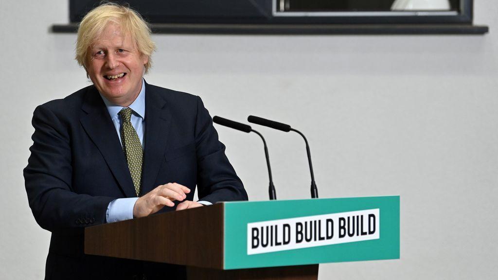Boris Johnson presenta un 'new deal' para salir de la crisis tras la pandemia