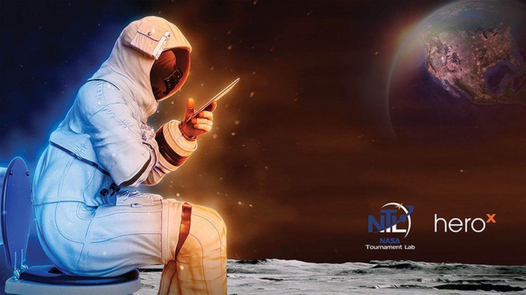 La NASA recompensará económicamente a quien diseñe un retrete que funcione en la Luna