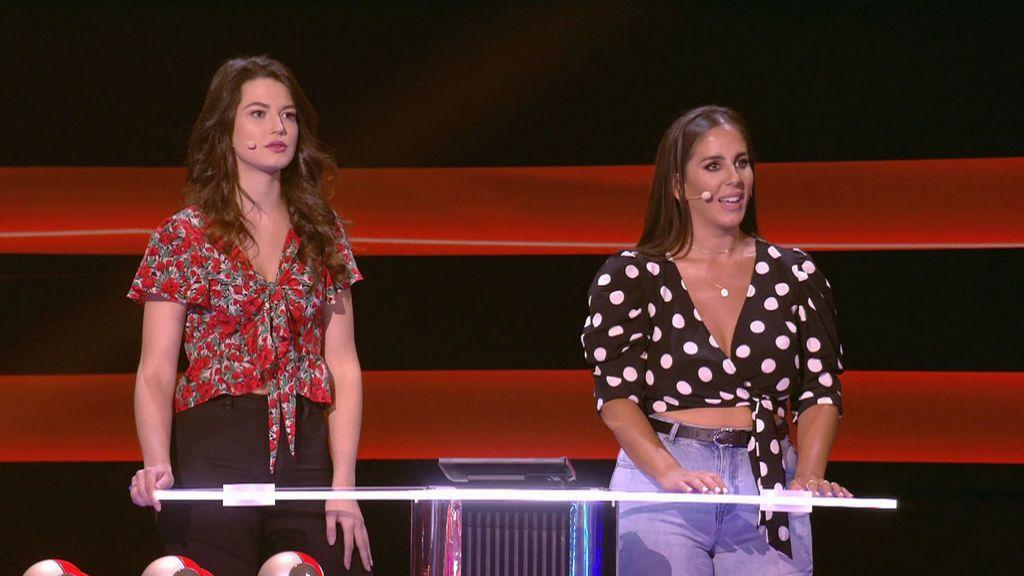 Patricia y Elia con Omar Montes y Anabel Pantoja Adivina qué hago esta noche Temporada 2 Programa 11