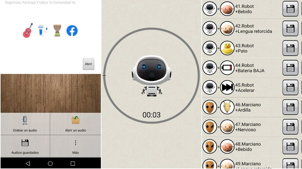 Cómo funciona la app 'Modificador de voz'