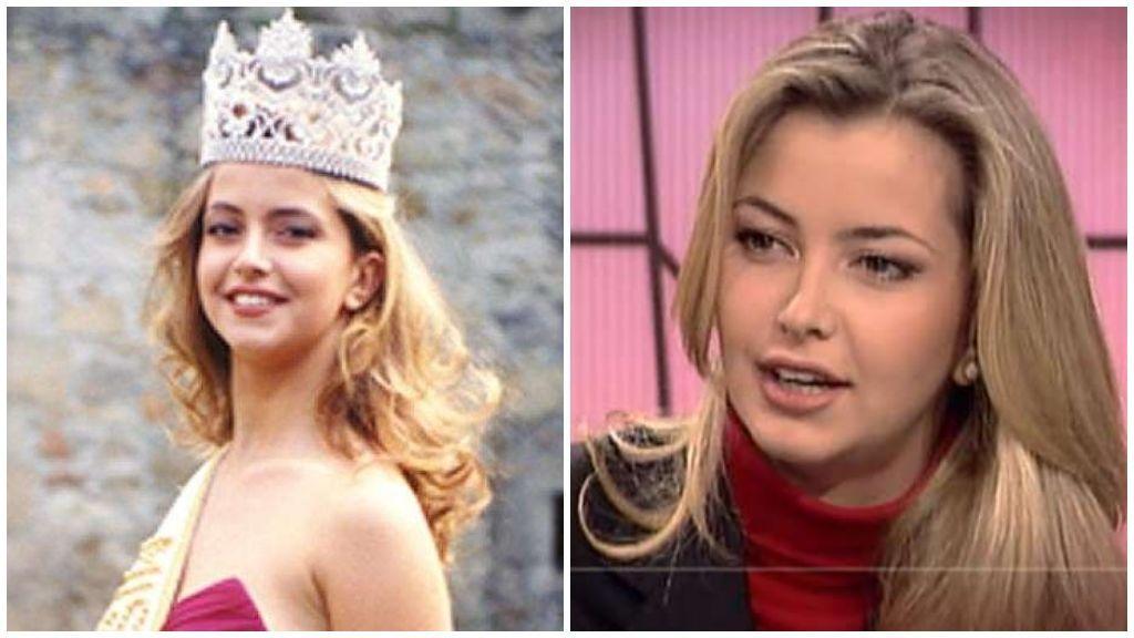 Sofía Mazagatos fue coronada Miss España en 1991; luego, se formó como presentadora.