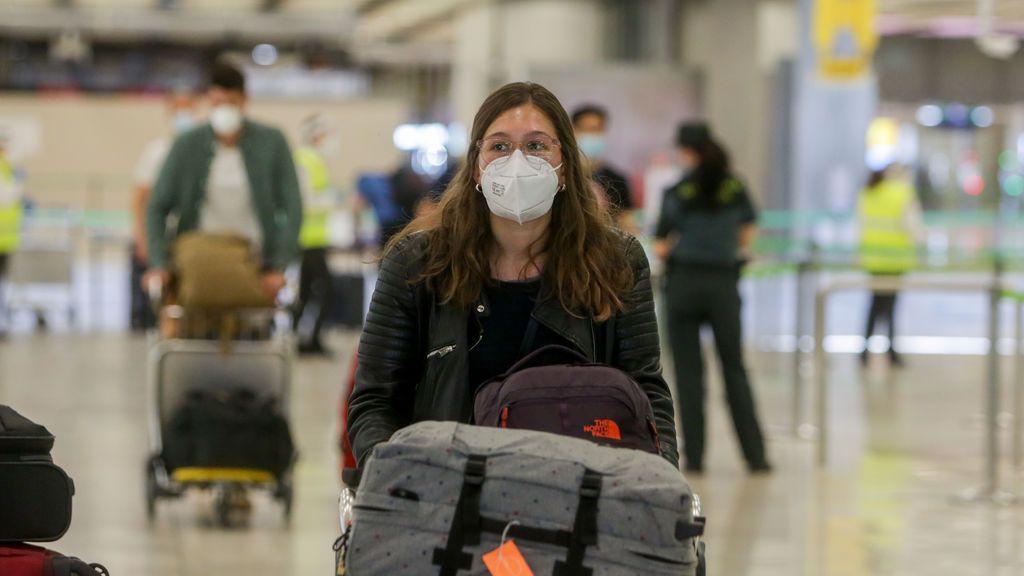 El código QR que todos los turistas tendrán que presentar en los aeropuertos de España