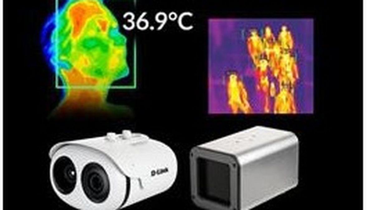 Las cámaras termográficas pueden medir la temperatura a hasta 30 personas a la vez