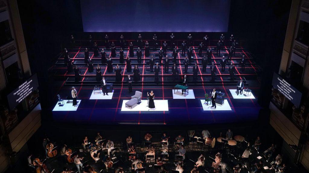 Reapertura del Teatro Real con 'La Traviata'