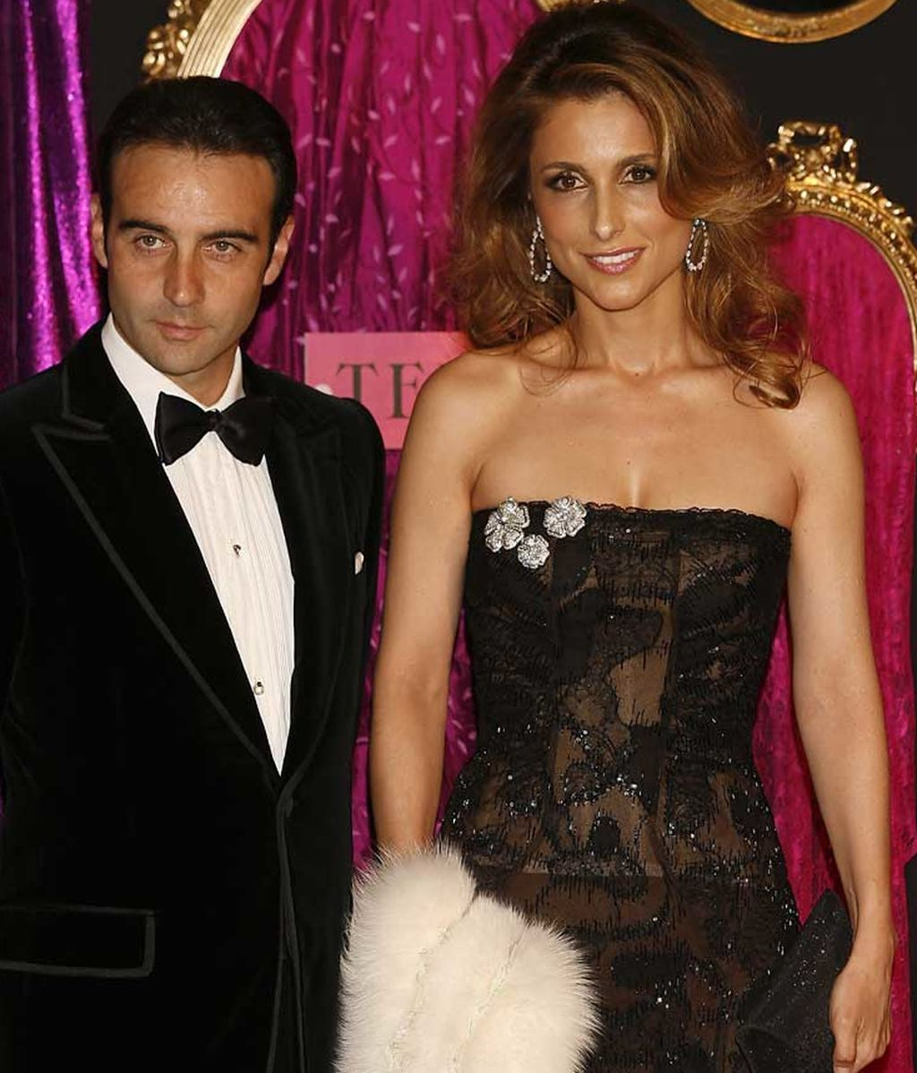 Enrique Ponce y Paloma Cuevas, en un evento de la revista Telva