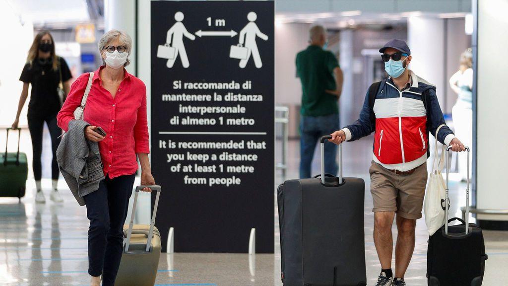Italia se pone dura e impondrá cuarentena a los viajeros extracomunitarios