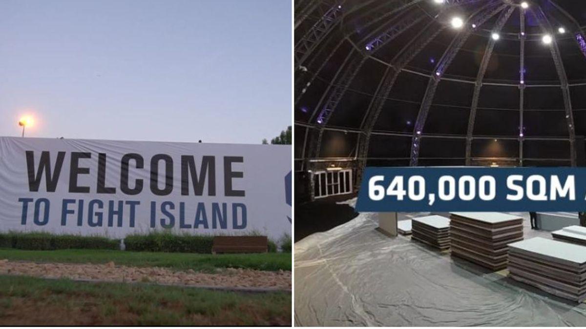 La isla privada de la UFC para evitar contagiarse de coronavirus: 750 empleados, 17 equipos médicos y un octógono en la playa