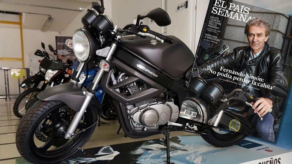 Modelo, precio y leyenda: todo sobre la moto que conduce Simón y que marcó a una generación