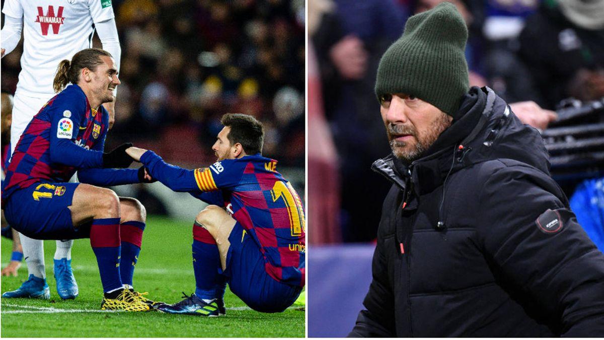"""Dugarry, ex del Barça, sobre Messi: """"¿De qué tiene miedo Griezmann, de un chaval que mide 1,50 y que es medio autista?"""