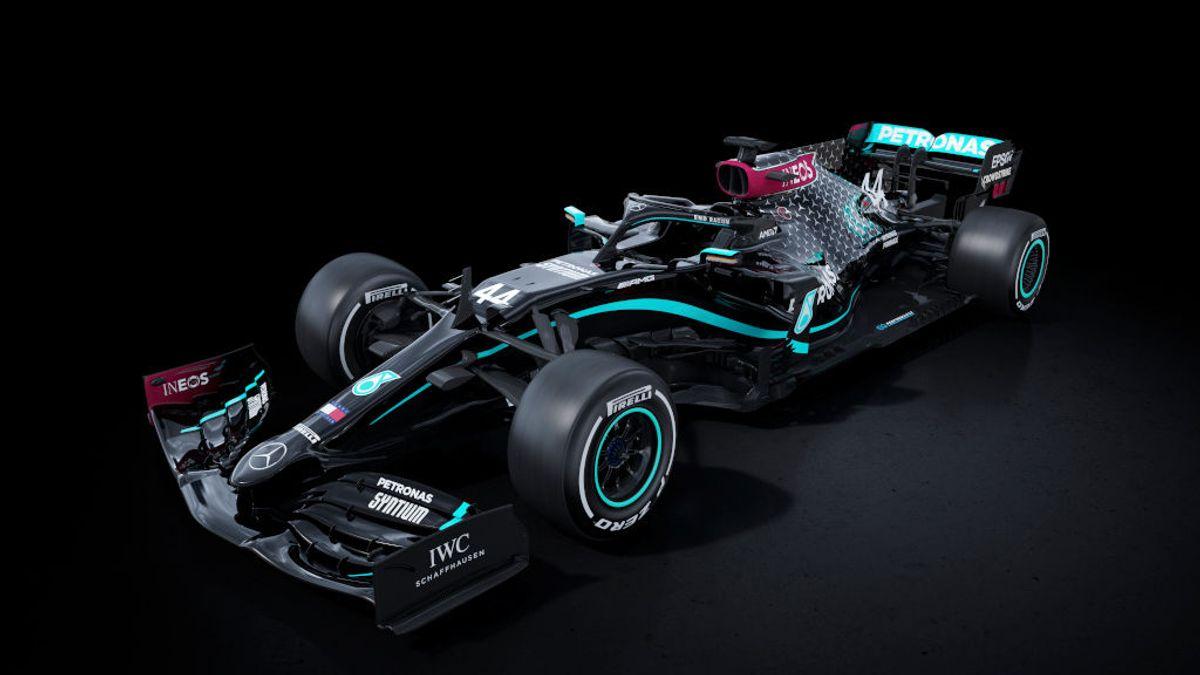Fórmula 1: Mercedes cambia el plata por el negro durante 2020 para luchar contra el racismo