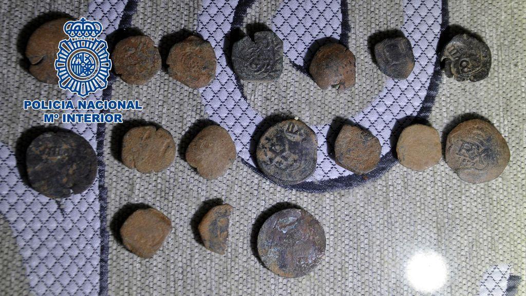 Tres detenidos por expoliar 229 piezas históricas  de yacimientos arqueológicos