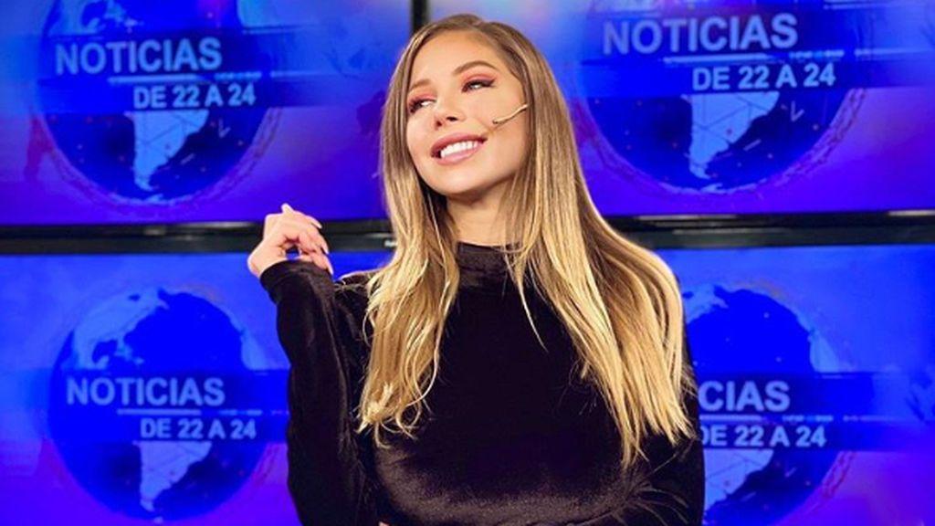 Romina Malaspina vuelve a la televisión como presentadora de Informativos en Argentina