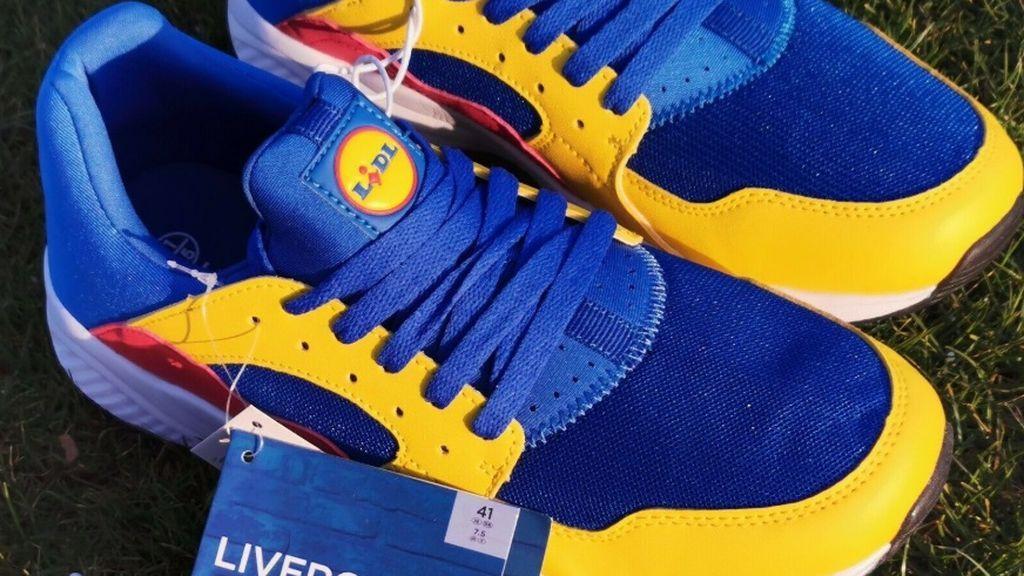 La gente pierde la cabeza por las nuevas zapatillas de Lidl: a la venta en webs de segunda mano por cientos de euros