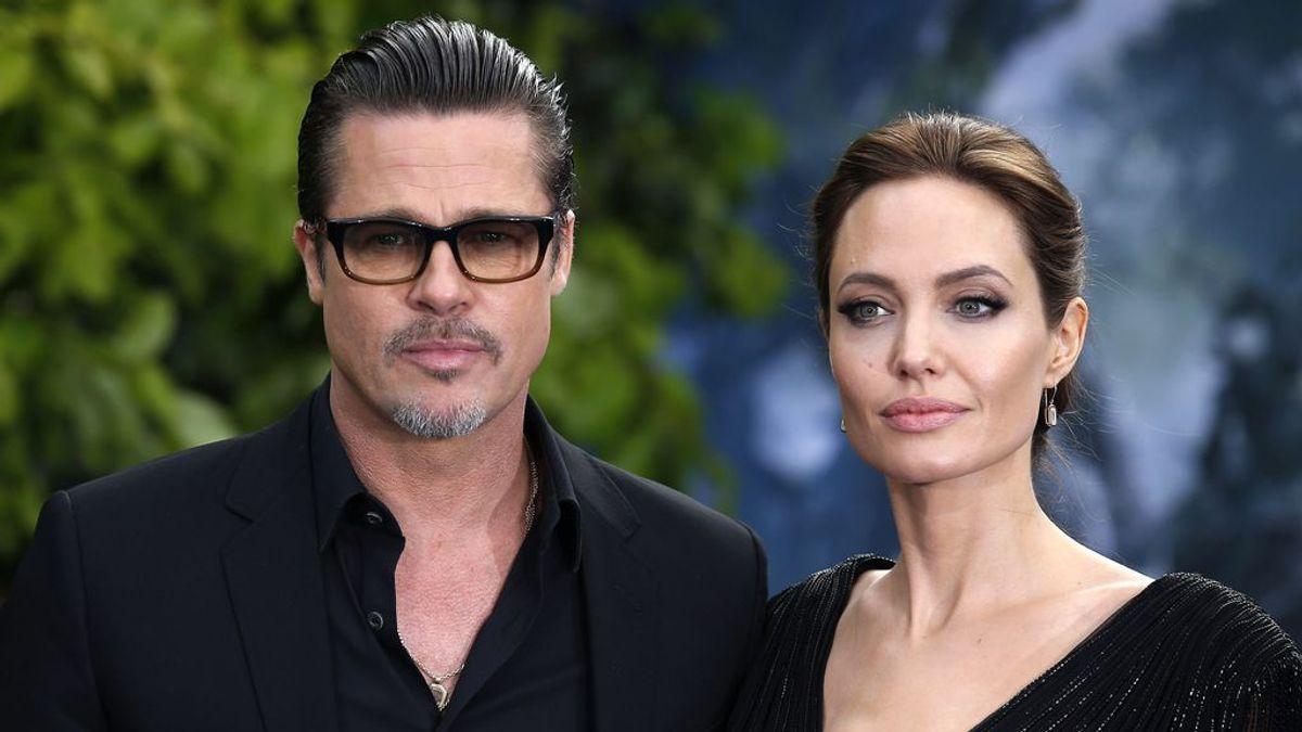 Brad Pitt acude por primera vez a casa de Angelina Jolie tras su divorcio