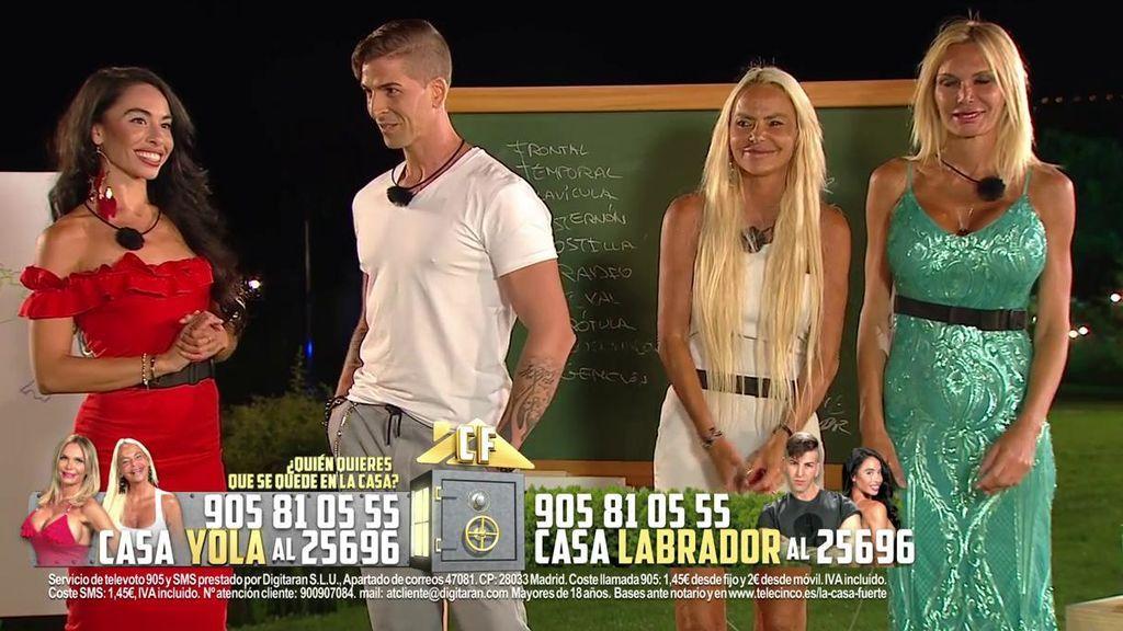 Directo Gala 7: Yola y Leticia se enfrentaran a Labrador y Macarena en el próximo asalto