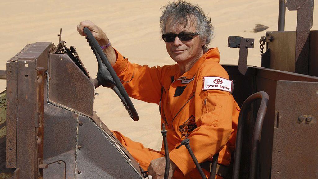 El diseñador del primer recorrido del Dakar, Jean-Claude Morellet