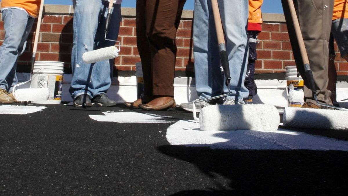 Tejados blancos para enfriar la ciudad: una solución para reducir el efecto isla de calor