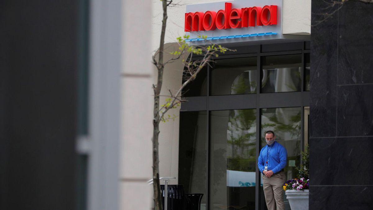 Sede de Moderna en Massachussetts