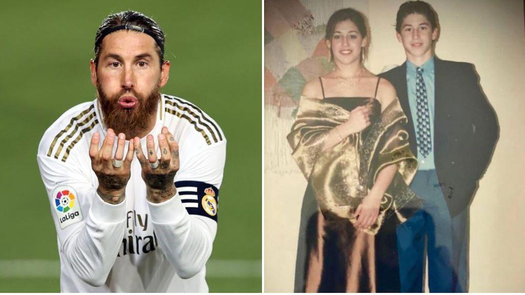 """La felicitación de Sergio Ramos a su hermana con gol incluido: """"Mi amiga del alma, la niña de mis ojos"""""""