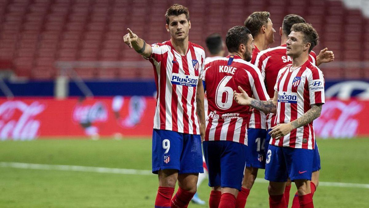 Al Atlético de Madrid sigue con su buena racha después del parón y mete al Mallorca en problemas (3-0)