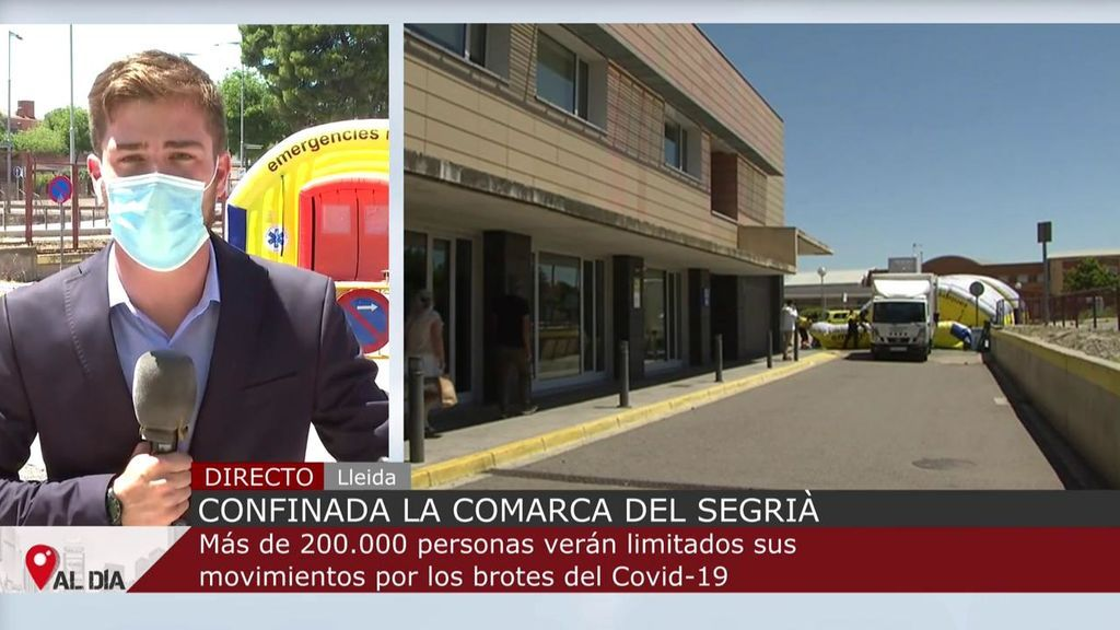 La comarca de Segrià, en Lleida, confinada por el aumento de casos de coronavirus