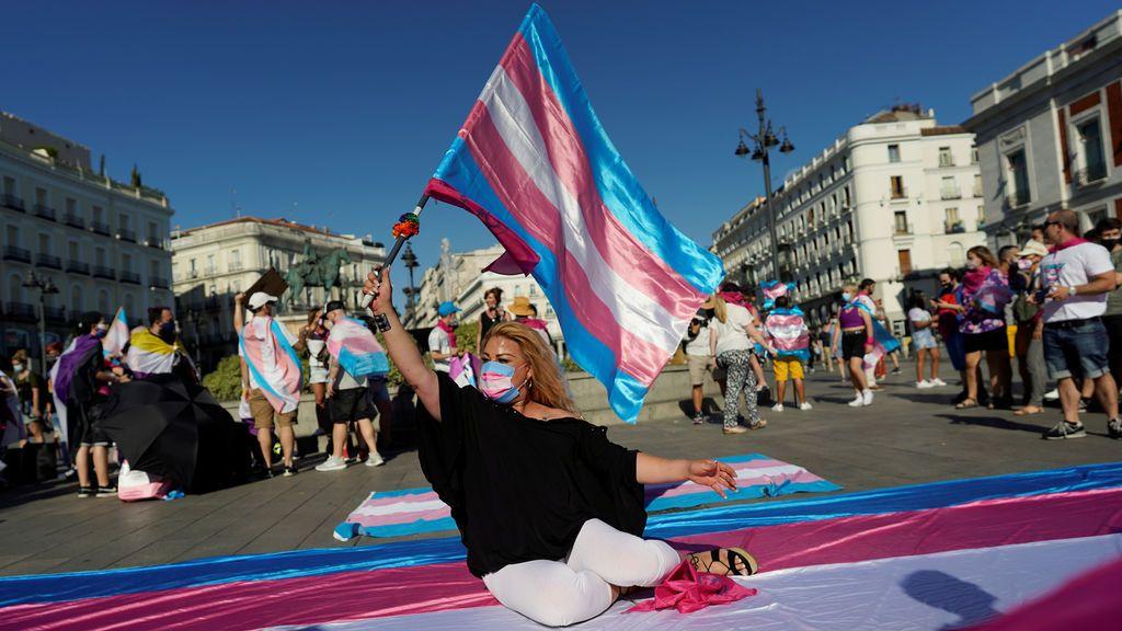 Personas trans de toda España se manifiestan en Madrid para demandar una ley estatal para su colectivo