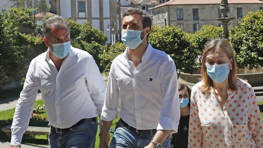 Casado llama a  los gallegos a salir a votar e insiste que se puede hacer con total seguridad