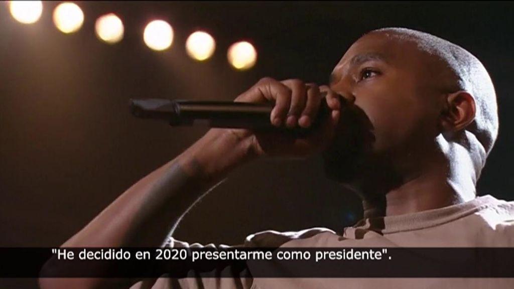 El rapero Kanye West anuncia su candidatura para la presidencia de EEUU en noviembre