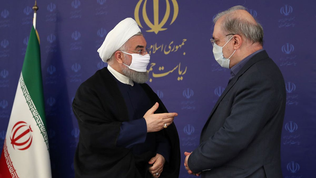Irán, mascarillas coronavirus y miedo
